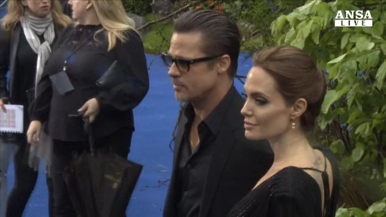 Brad Pitt e Angelina Jolie sposi in Francia