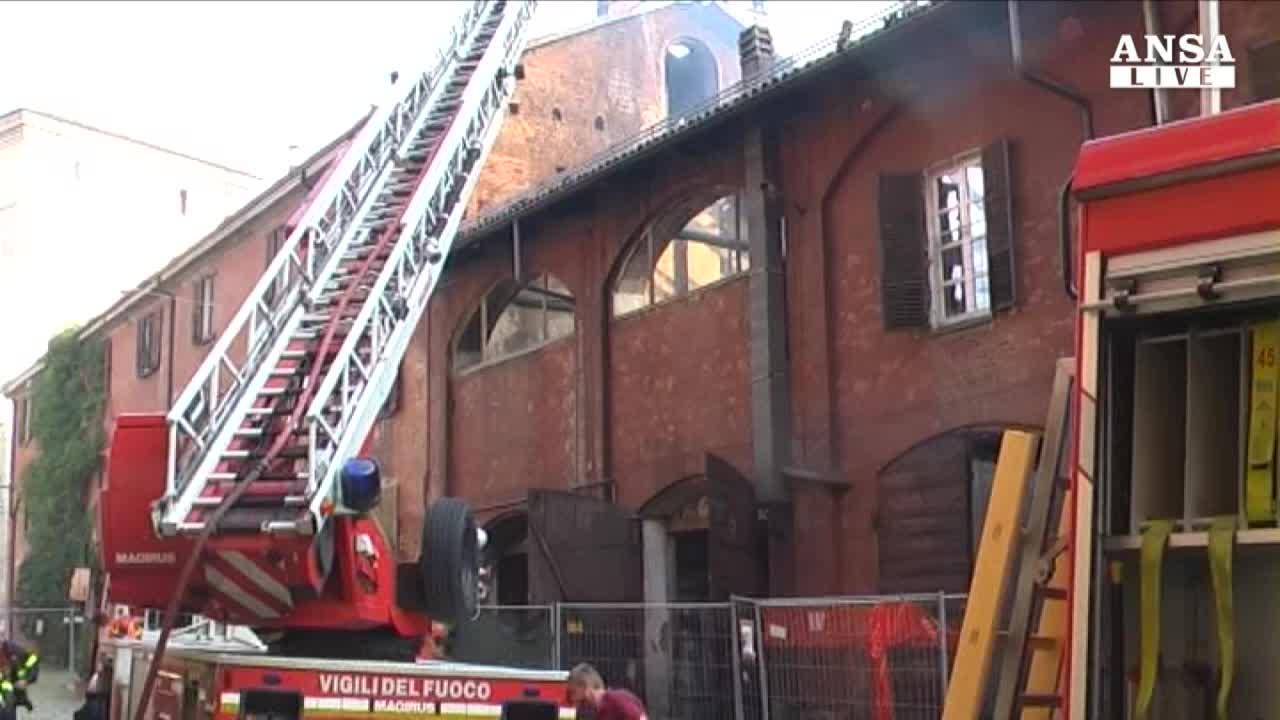 Doloso l'incendio a Cavallerizza Reale di Torino