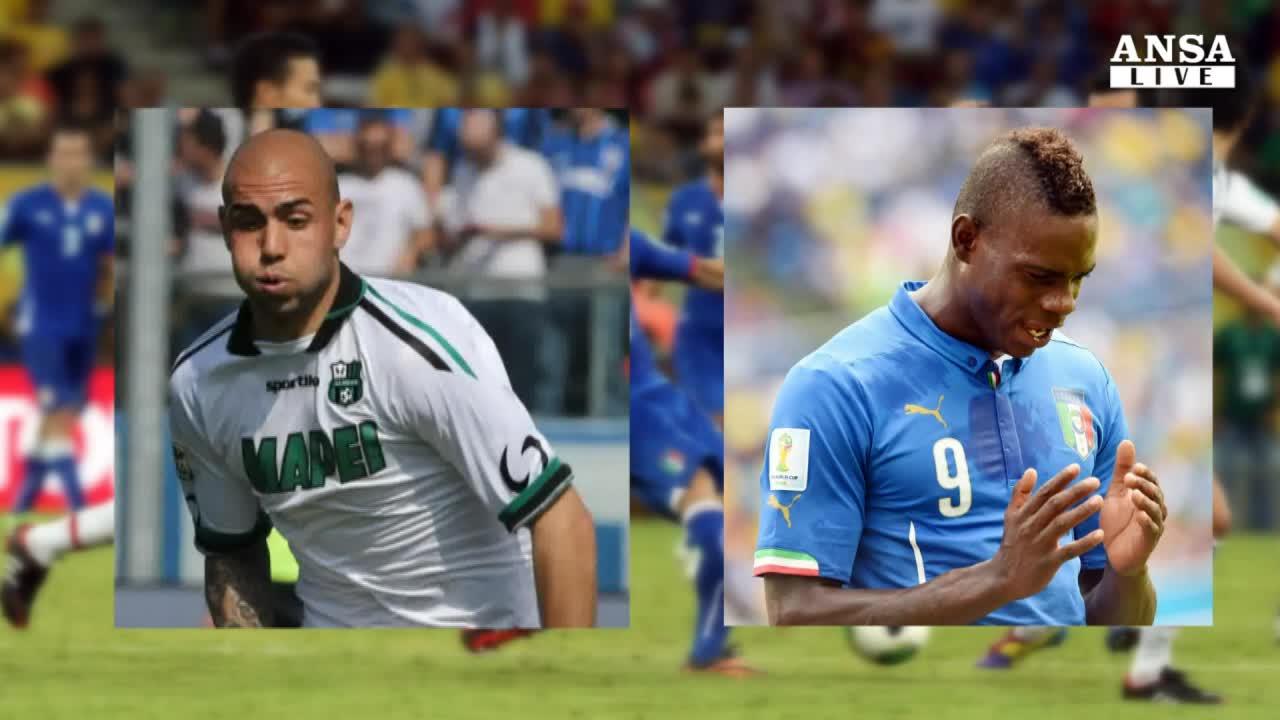 Azzurri, Conte esclude Balotelli
