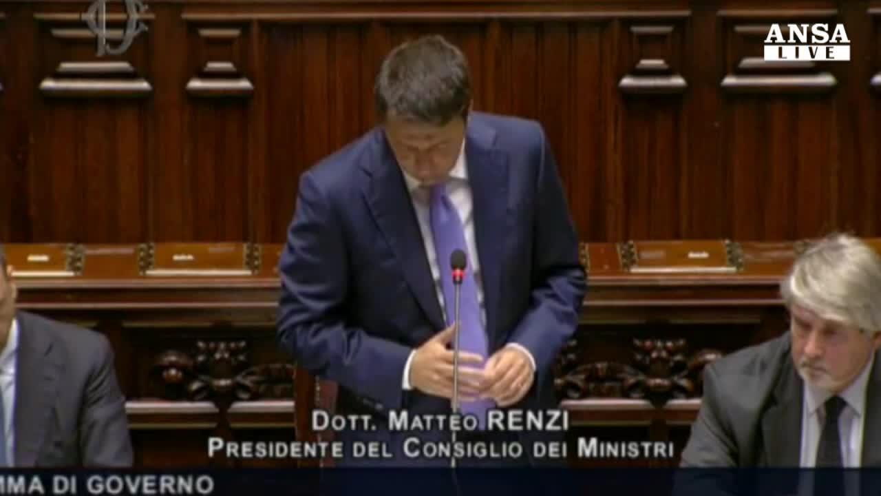 Renzi: mille giorni sono ultima chance