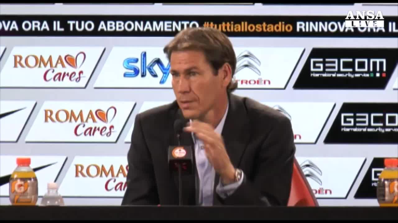 Garcia: chiuso libro Champions, battiamo Cagliari