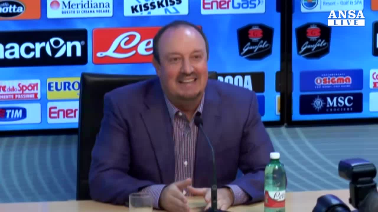 "Benitez: ""Questo Napoli fara' bene"""