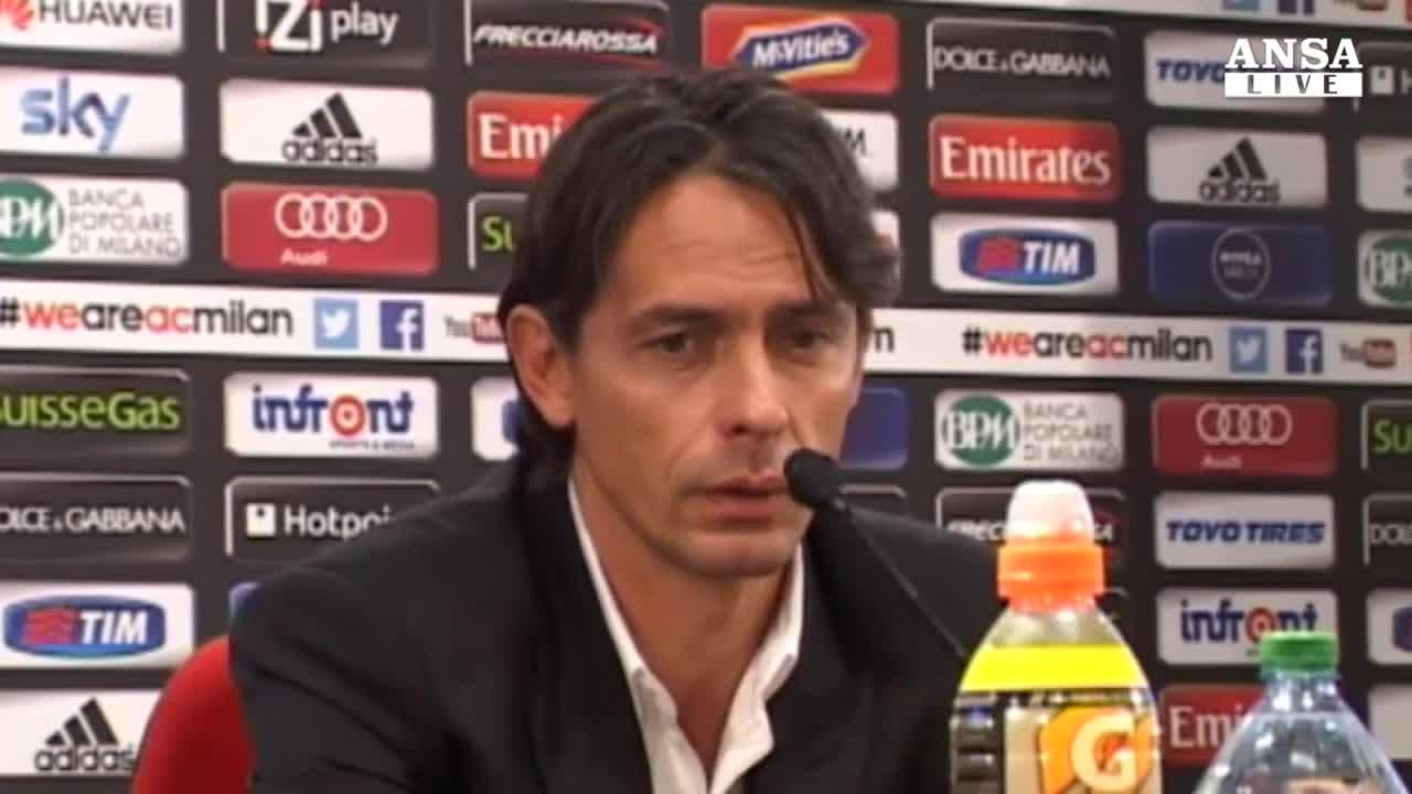 Milan, Inzaghi difende la squadra
