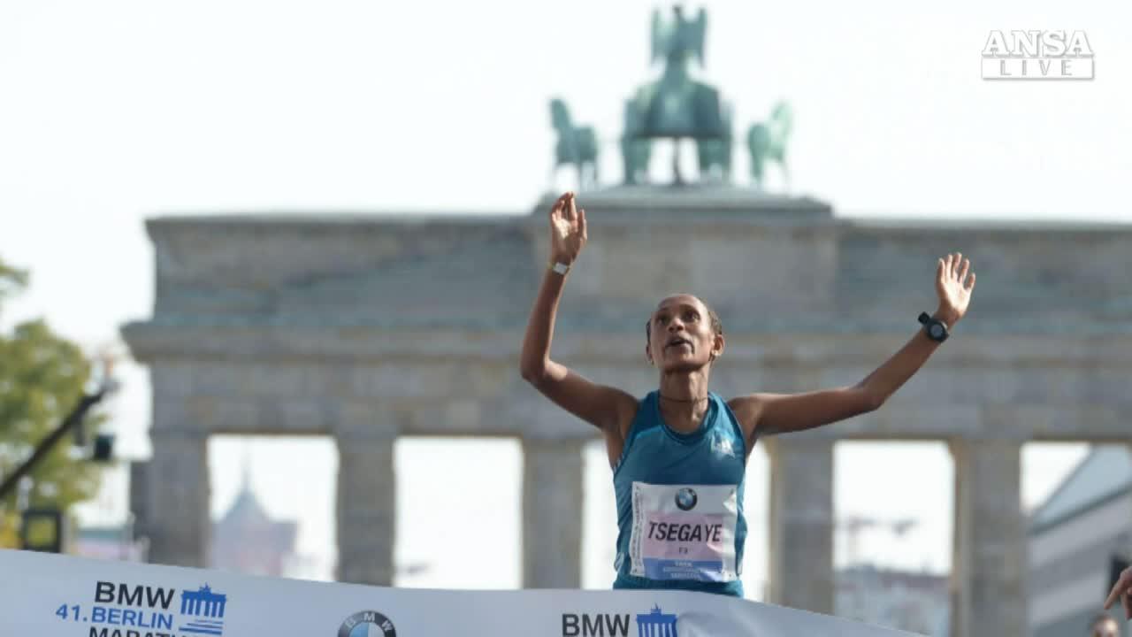 Atletica: record mondo maratona