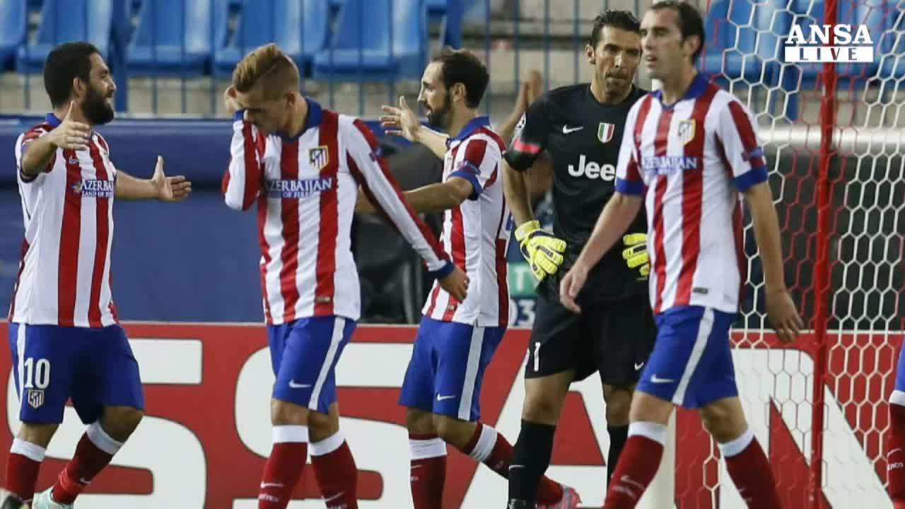 Champions, la Juve cade a Madrid