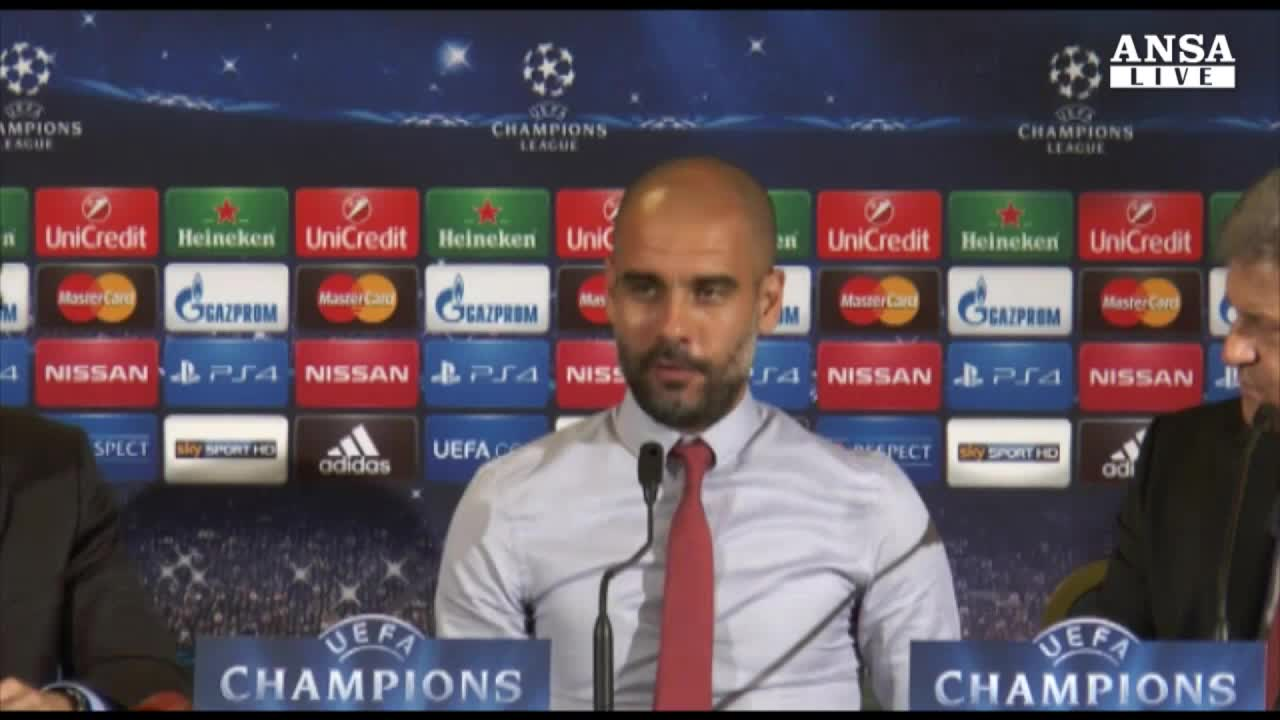 Guardiola, bello veder giocare la Roma