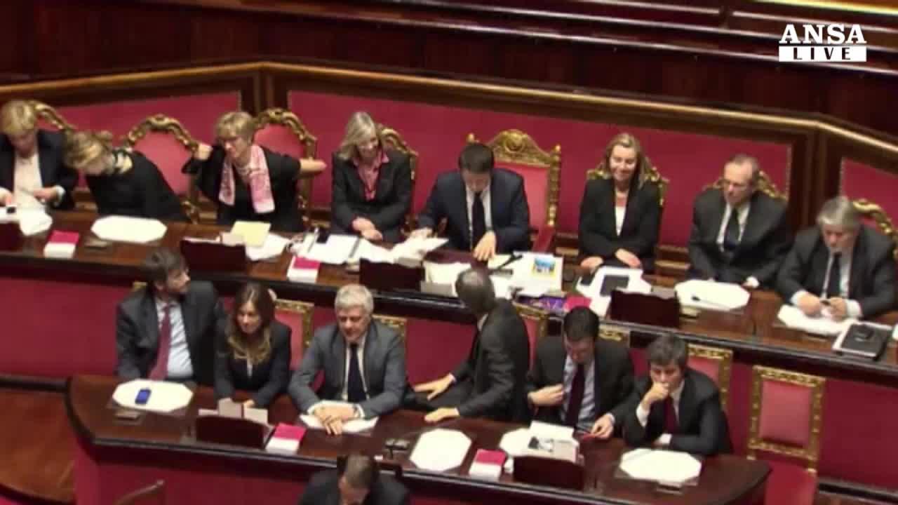 """Manovra al colle,""""attento esame"""". Napolitano vede Renzi"""