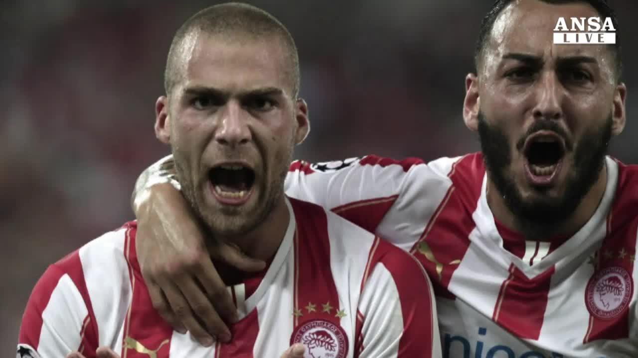 Champions, la Juve cade ad Atene