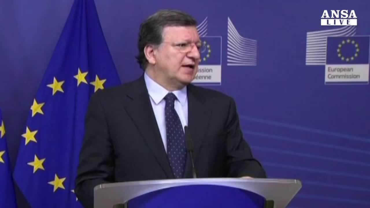 L'addio al veleno di Barroso, su di me solo falsita'