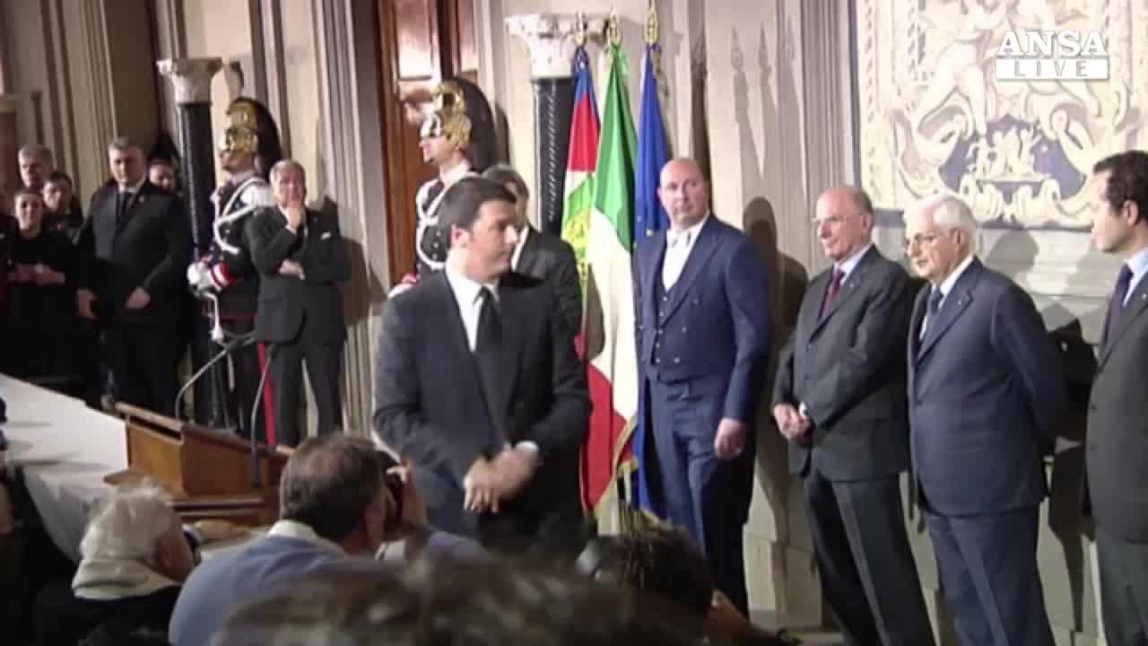 Renzi affronta nodo Farnesina, distanze con Napolitano