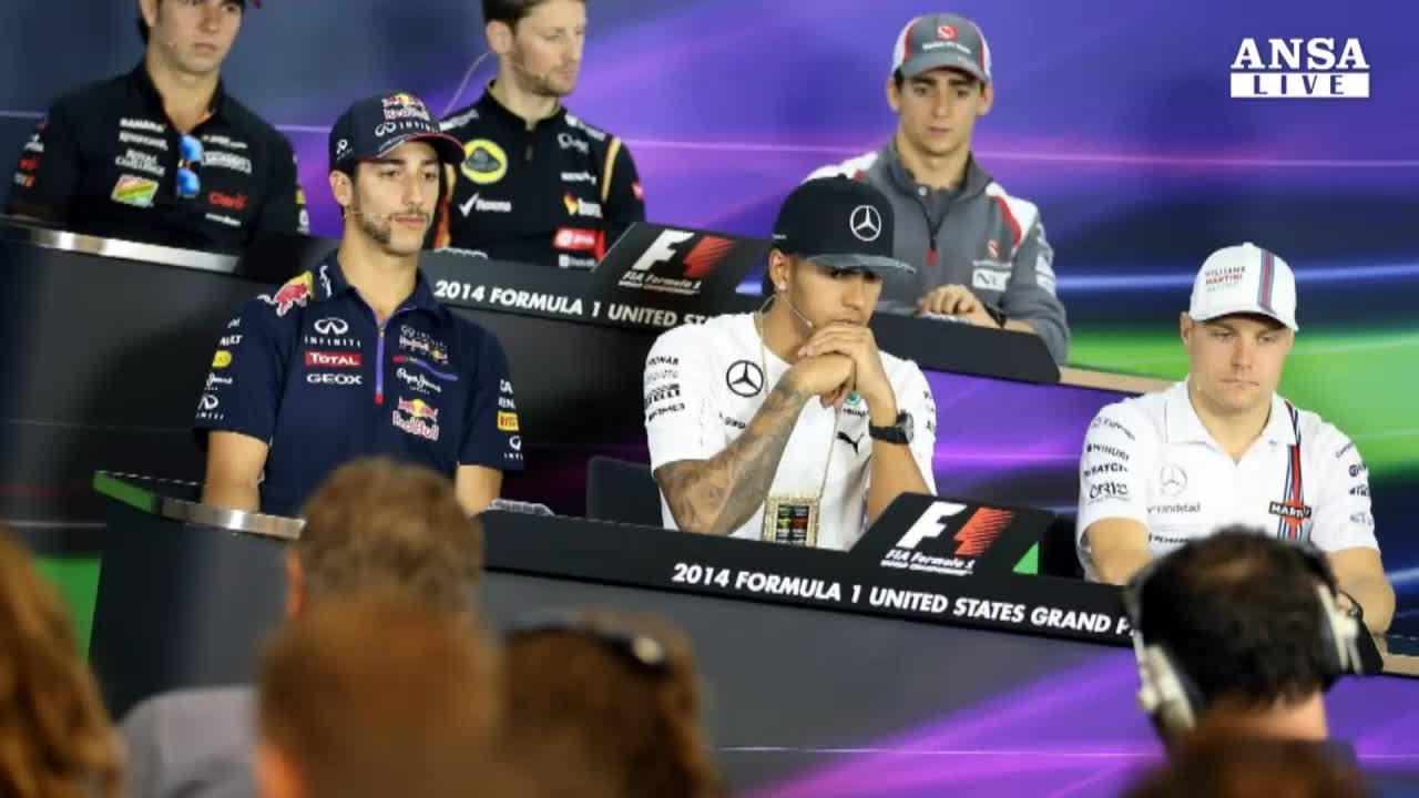 F1: Usa, Hamilton teme Rosberg