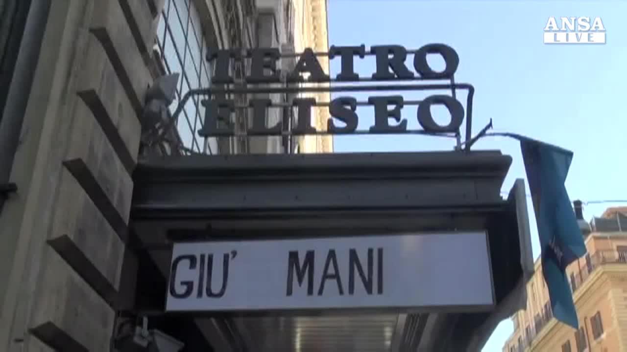 Barbareschi: salvero' il Teatro Eliseo