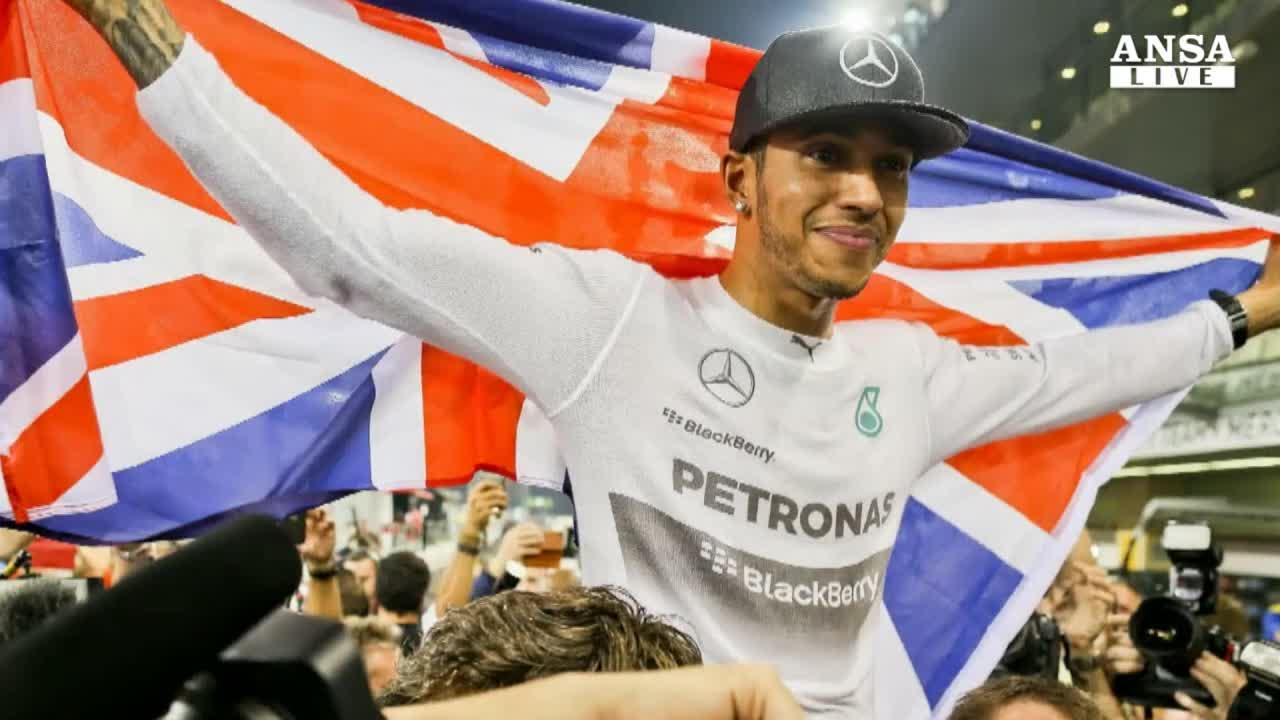 Hamilton campione per la 2/a volta