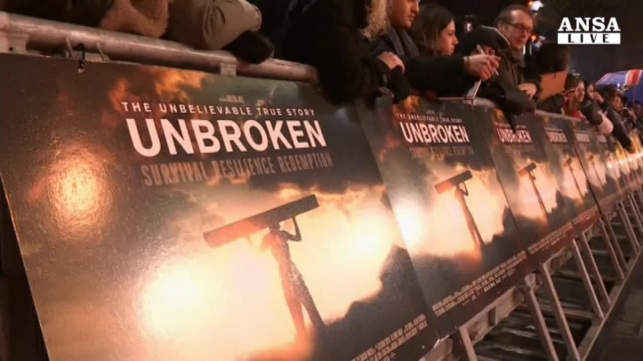 Premiere a Londra di Unbroken di Jolie