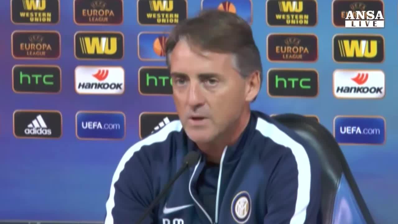 """Mancini: """"Voglio vincere il girone"""""""