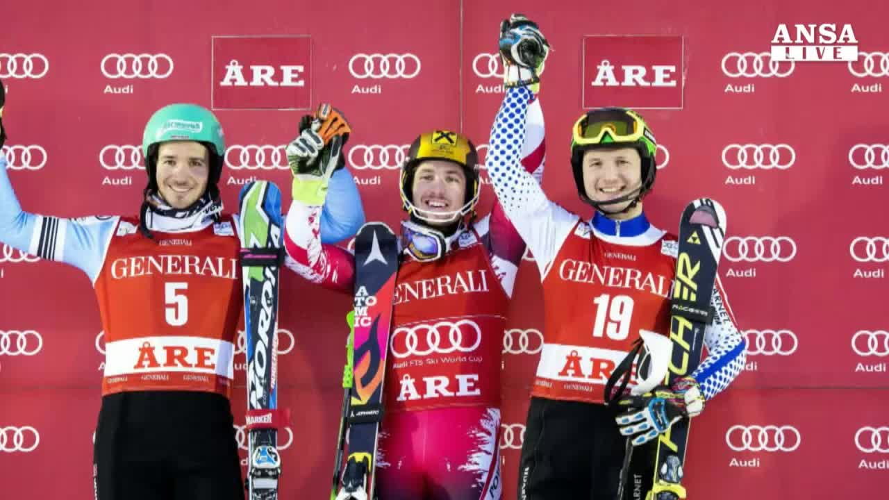 Sci: Hirscher domina ad Are