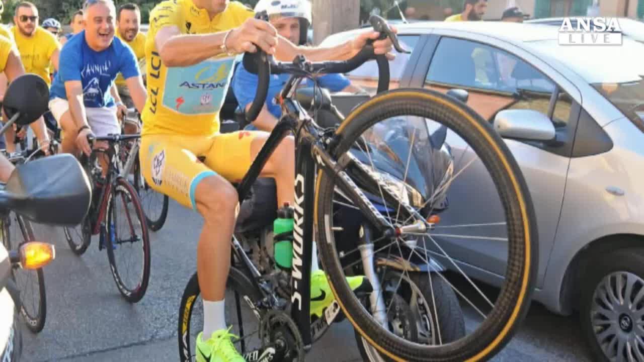 Comincia nuova avventura di Nibali