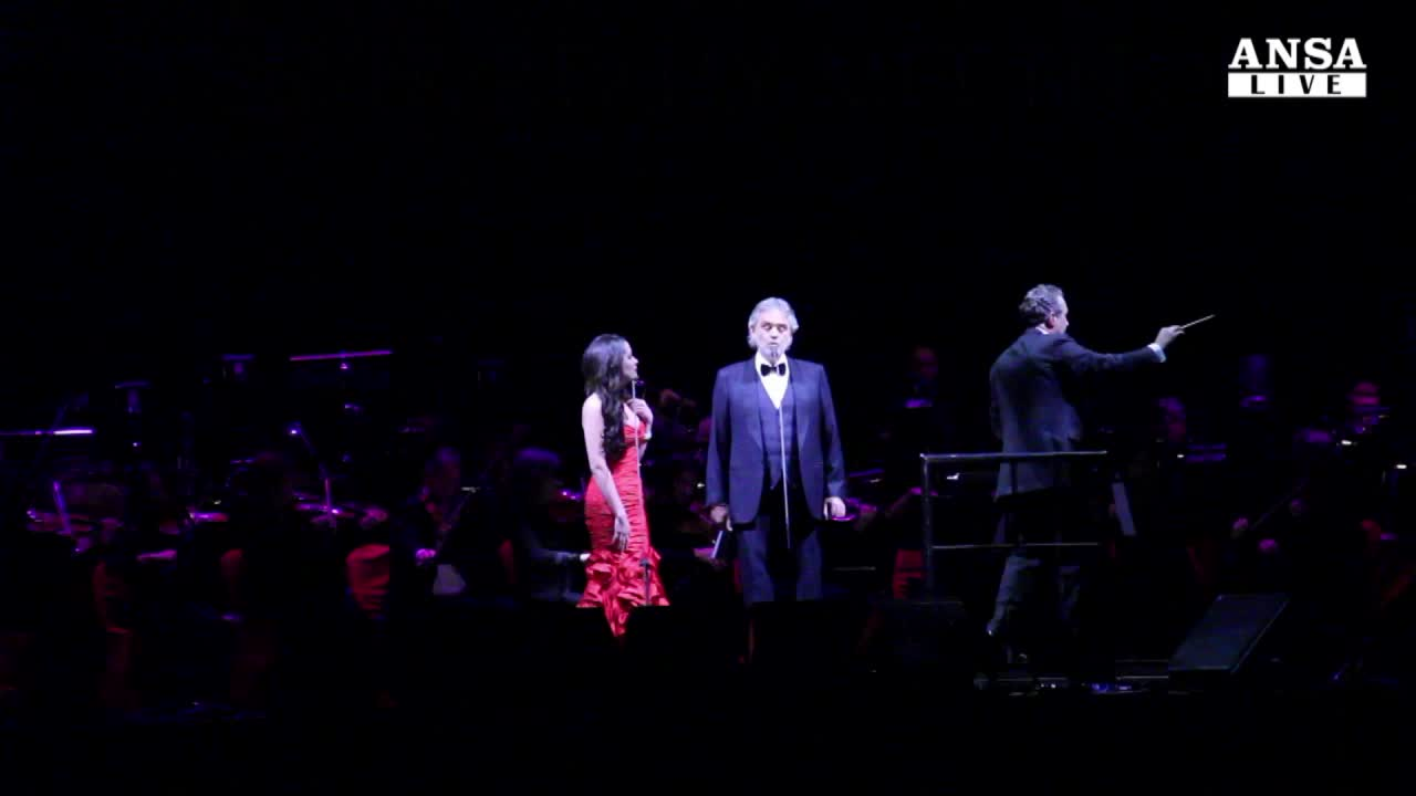 Andrea Bocelli 'incanta' New York