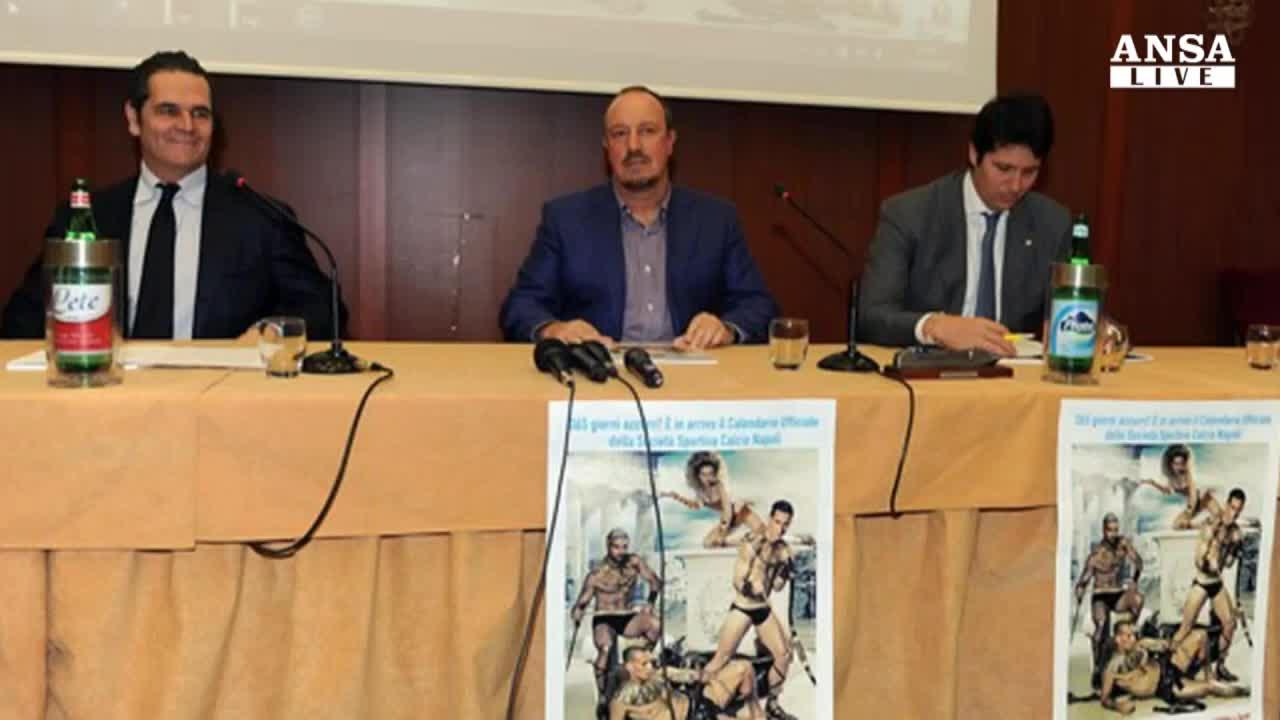 """Benitez: """"Voglio vincere a Napoli"""""""