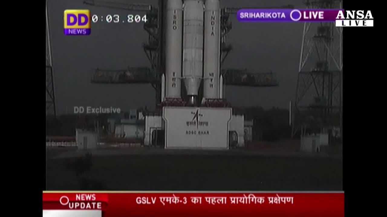 India, lanciato razzo GSLV MK-3