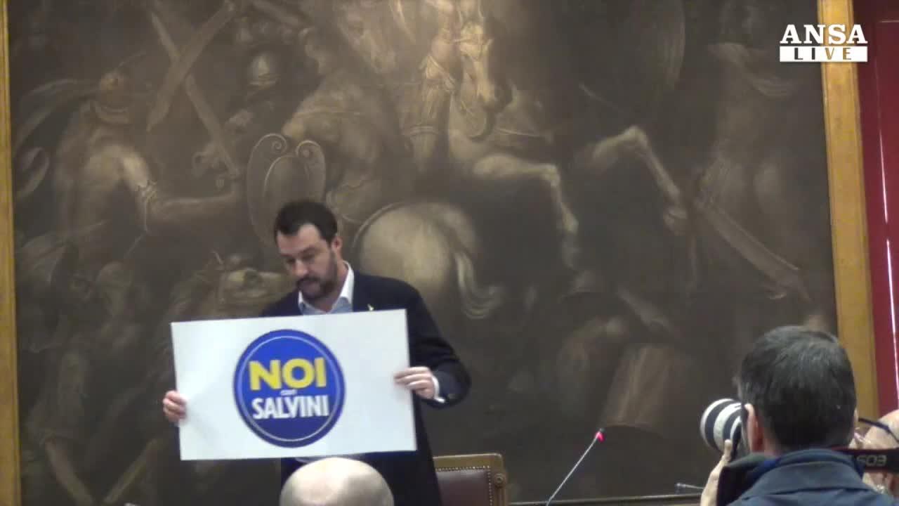Noi con Salvini,nuovo simbolo per sud