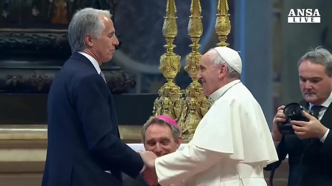Papa benedice candidatura Olimpiadi Roma