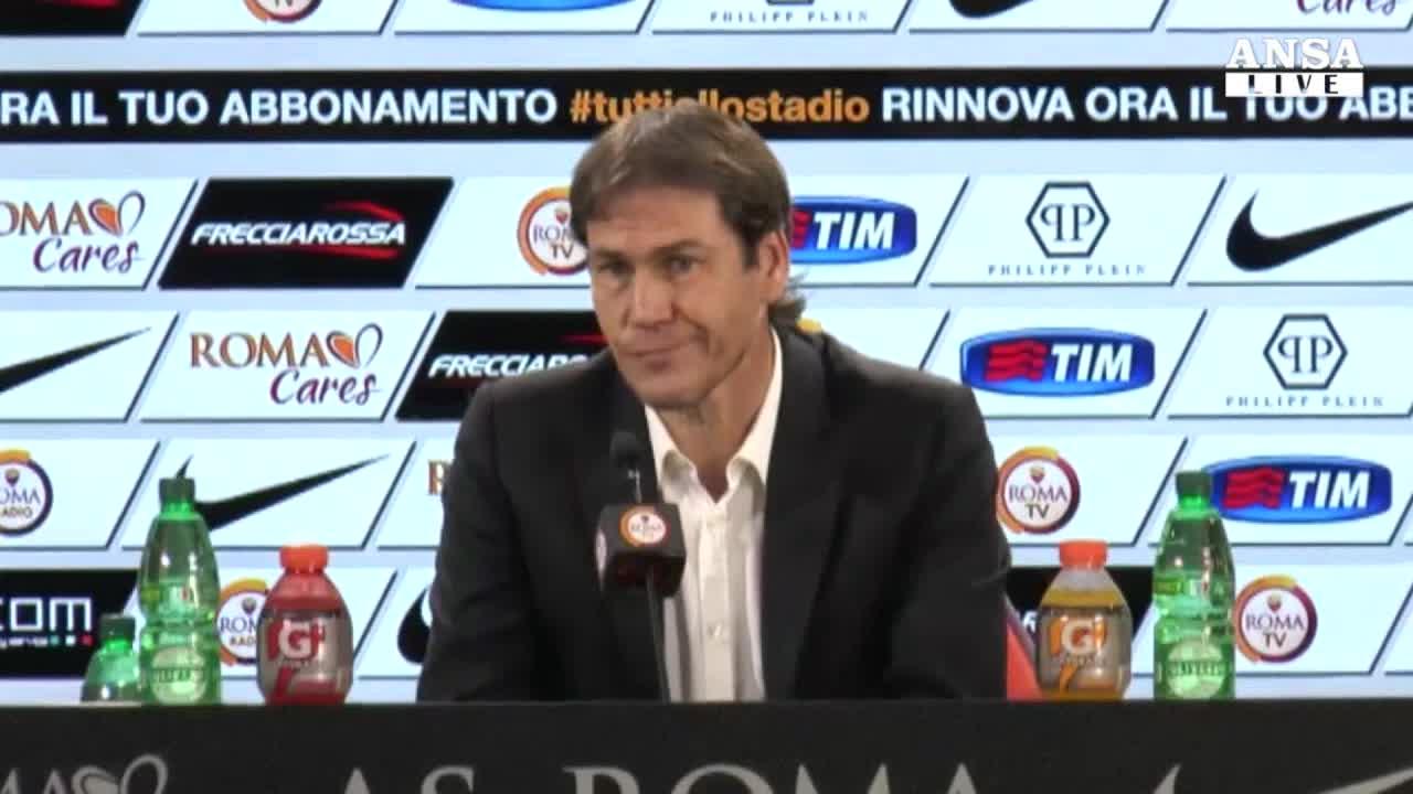 La Roma ritrova Garcia e Holebas