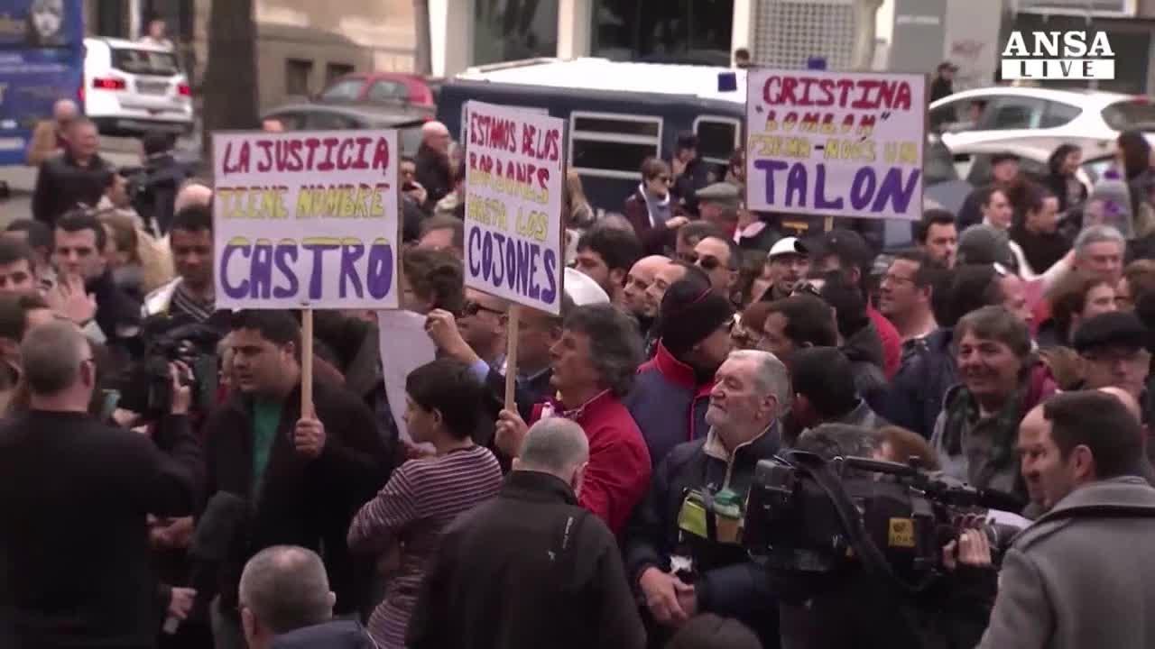 Infanta Cristina rinviata a giudizio