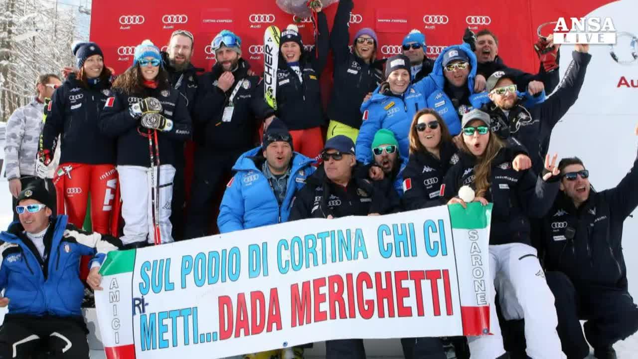 Sci: Vonn da record a Cortina