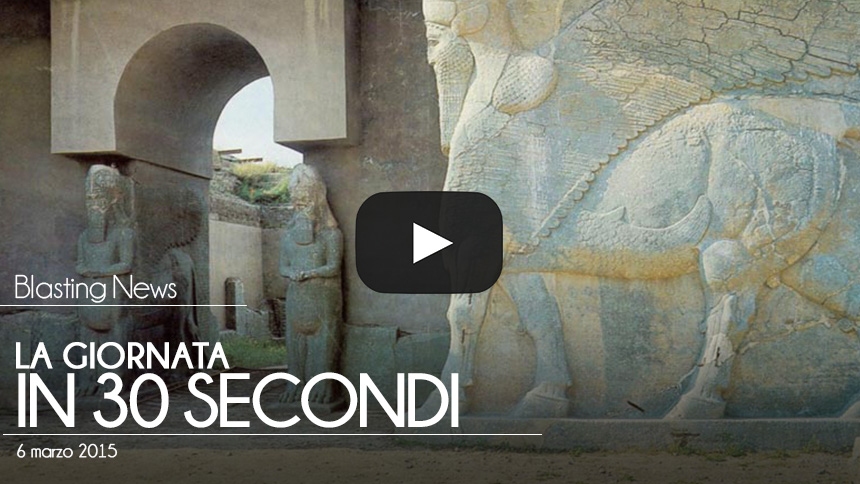La giornata in 30 secondi - 06 marzo 2015