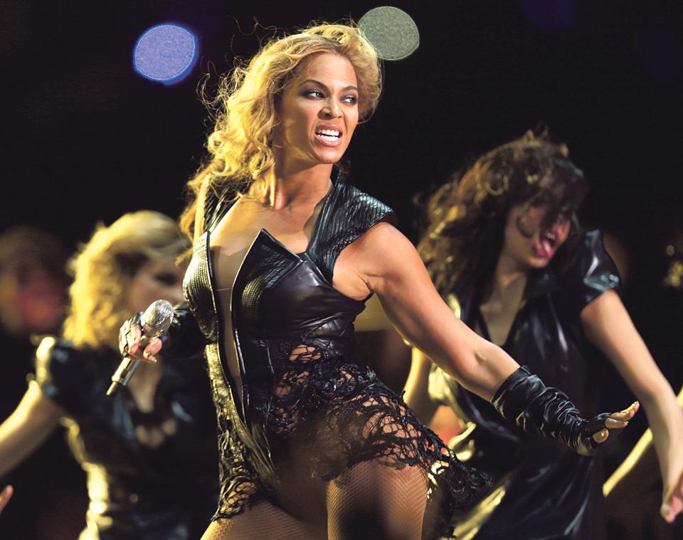 Beyoncé roubou o espetáculo no SuperBowl 2016