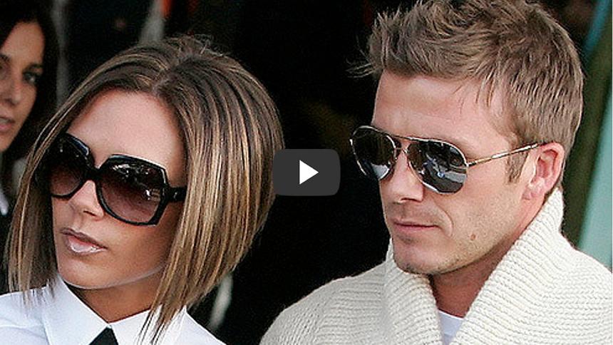 Victoria Beckham was drunk when she first met David