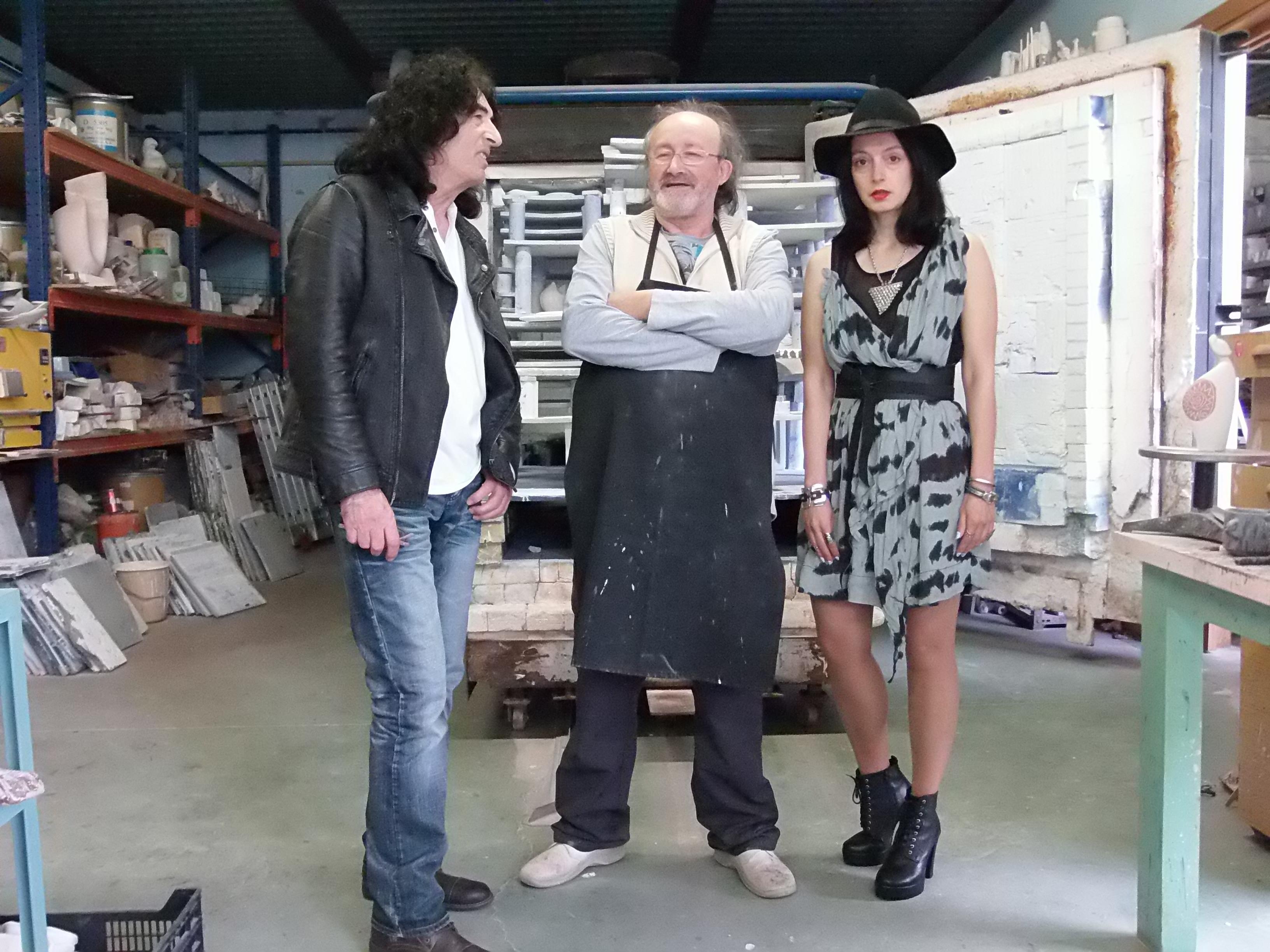 Alfonso Otero Regal el trabajador de la plástica