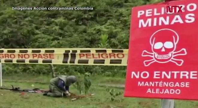 Colombia avanza en la lucha contra las minas antipersona