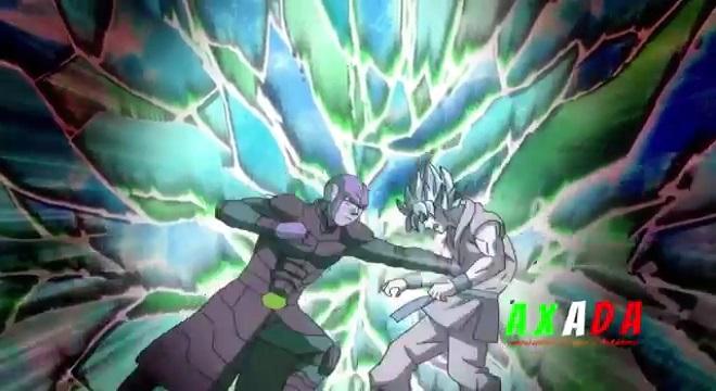Goku utiliza el Hakai en el manga 25