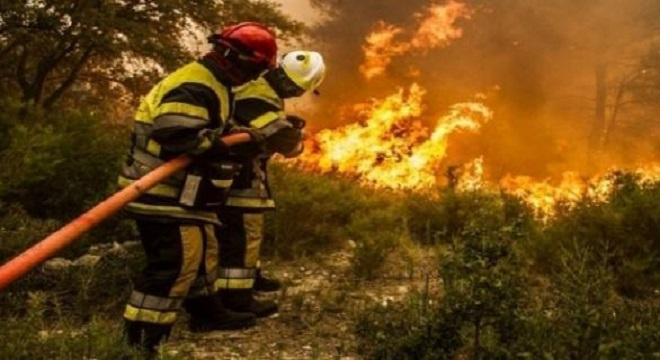 800 hectares de forêt partent en fumée près d'Aix-en-Provence