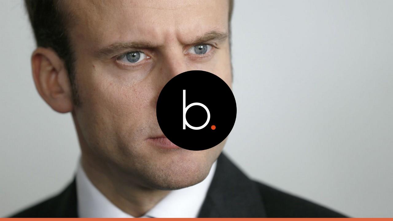 Emmanuel Macron dégringole dans les sondages !