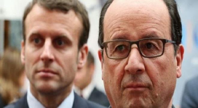 Que pense François Hollande de l'accession au pouvoir d'Emmanuel Macron ?