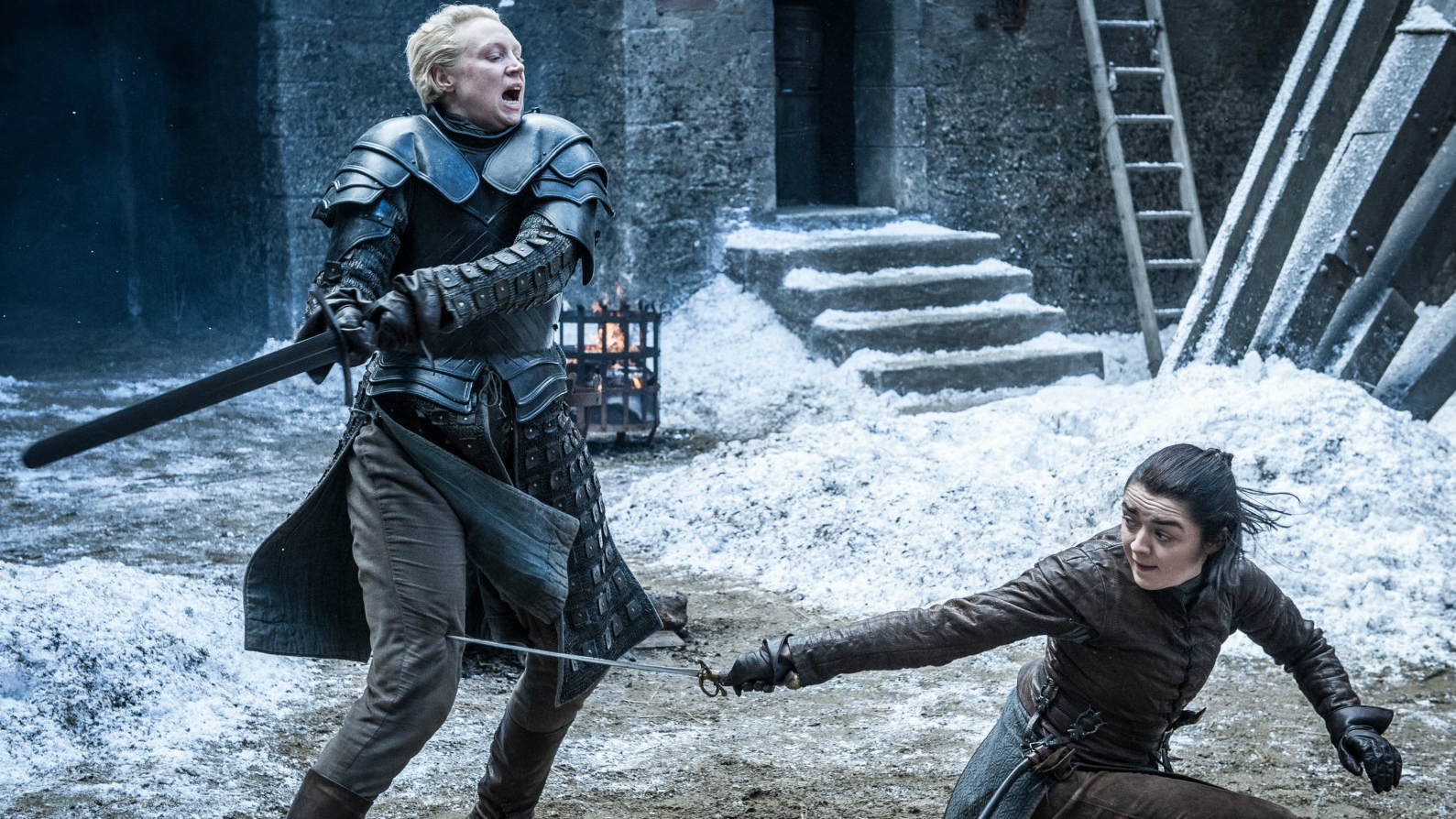Where Arya's moves come from and the amazing hand-trick you may have missed