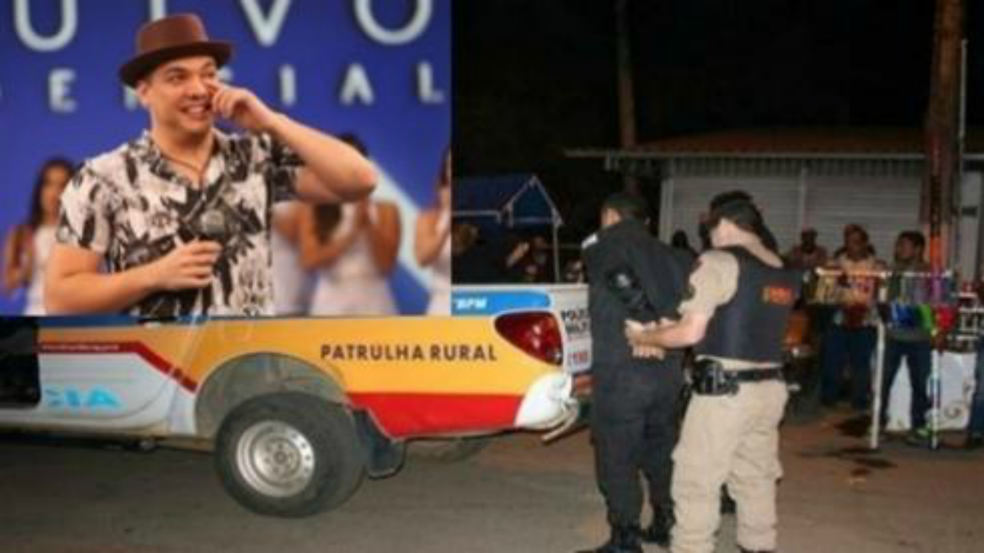 Wesley Safadão é vitimado por criminosos armados em show