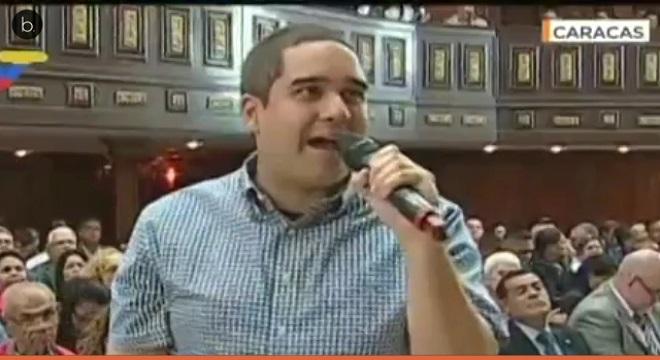 El hijo de Maduro replica a Trump
