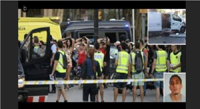 Video barcellona i terroristi si sono trincerati in un for Barcellona ad agosto
